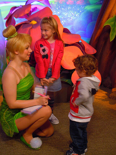 Disney Fairies meet and greet - Tinker Bell