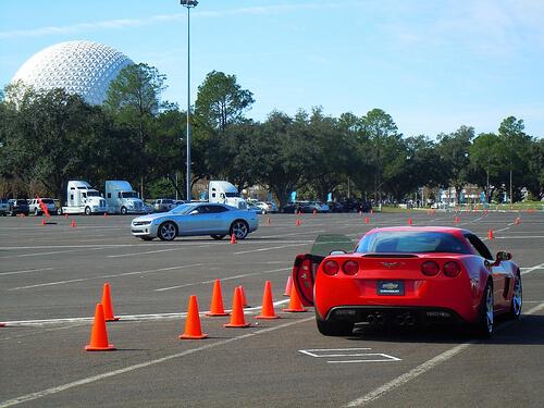 Spaceship Earth, Camaro, and Corvette