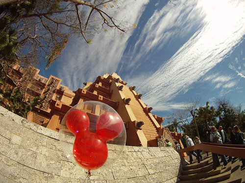 Mickey balloon in Mexico