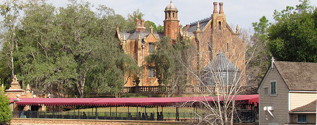 First look: Creepy new crypt added to Walt Disney World's Haunted Mansion queue features tombs for familiar ghosts