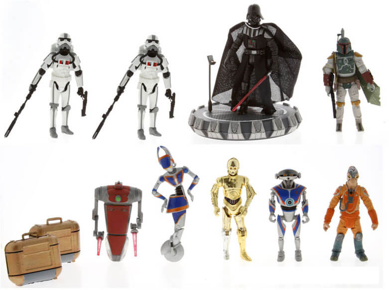 Star Wars Characters Toys : First look at disney toys and new characters for star