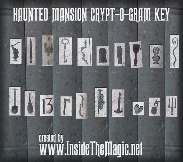 EXCLUSIVE Haunted Mansion Cryptogram Solved Revealing Hidden