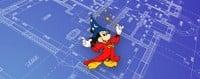 mickey on blueprint