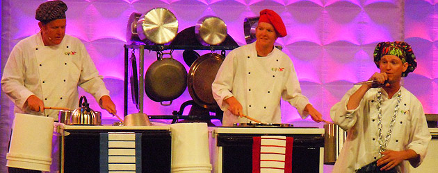 Video: Epcot's JAMMitors rock musical pots and pans at Disney Magic of Healthy Living – The Weekend