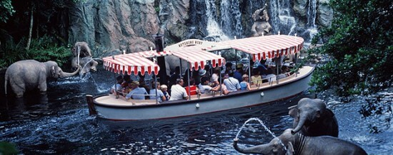Throw Back to the Jungle Cruise
