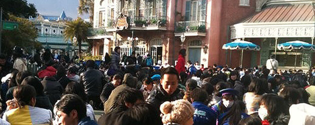 Pictures: 'Great' earthquake strikes Tokyo Disneyland and DisneySea stranding thousands of guests