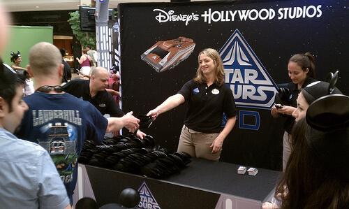 Star Tours 3D mall tour