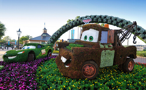 Mater topiary