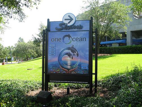 One Ocean signboard