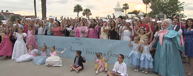 Walt Disney World Hosts Fans For Royal Wedding Tweet Up And Gathering With Special Surprises Entertainment