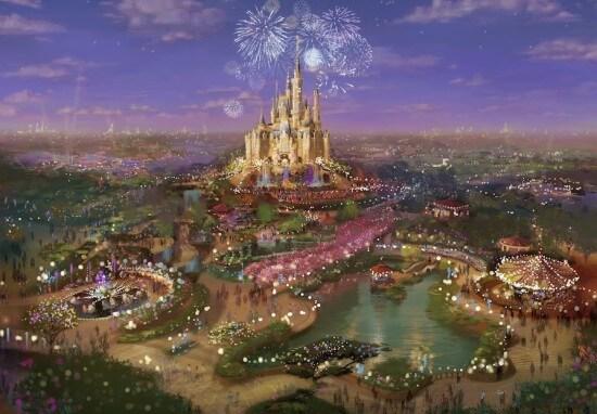 [Shanghai Disneyland] The Enchanted Storybook Castle (2016) - Page 2 Shanghaidisneyland2-550x382