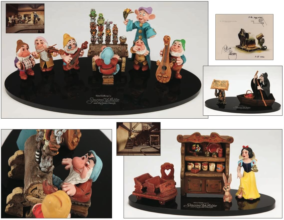 Snow White's Scary Adventures ride conceptual maquettes and photos ...