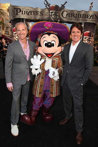 John DeLuca; Mickey Mouse; Rob Marshall