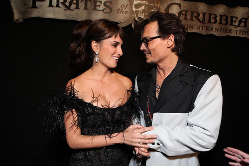 Penelope Cruz; Johnny Depp