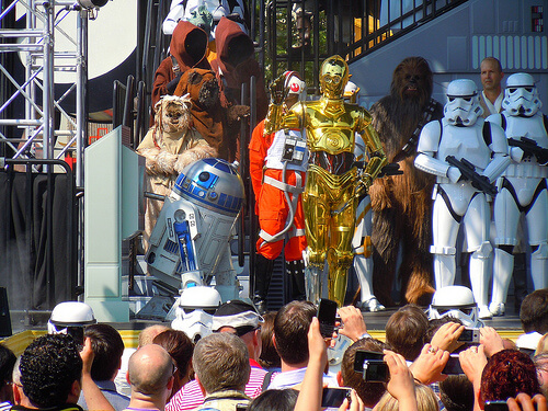 Star Tours dedication - Disney's Hollywood Studios