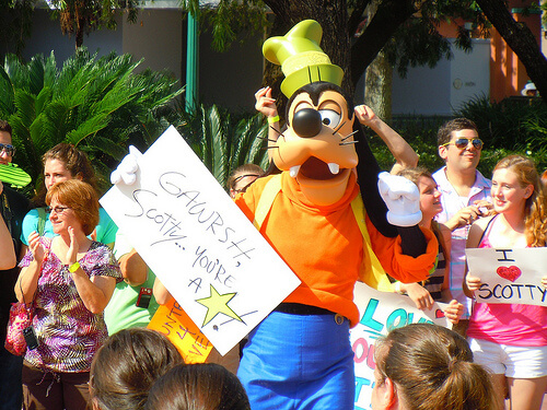 American Idol winner Scotty McCreery at Disney's Hollywood Studios