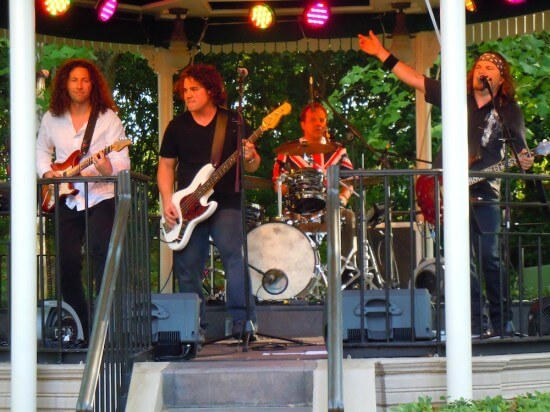 English Channel band rocks Epcot debut playing the music of Led Zeppelin, Queen, The Who, The Beatles and more in Walt Disney World