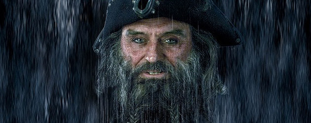 Blackbeard to be added to Pirates of the Caribbean rides in Disneyland and Walt Disney World
