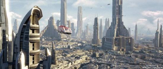 Big Star Wars City