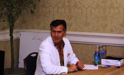 Bruce Campbell - Spooky Empire May-Hem 2011