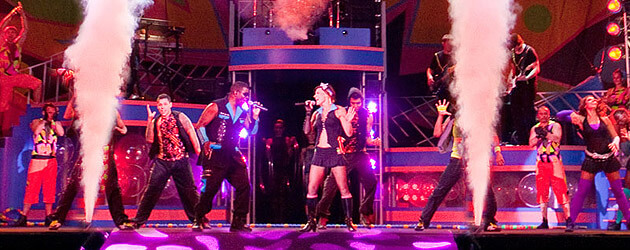 Kinnetix rocks Summer Nights at Busch Gardens Tampa Bay with high-energy, colorful stage show