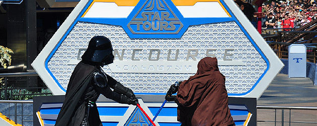 Video: Star Tours 2 grand opening at Disneyland packs big Star Wars action into small ceremony