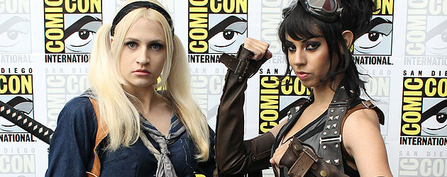 San Diego Comic-Con 2011: Day 3 – Costumes, girls, Disney Channel, zombies and more celebrity sightings