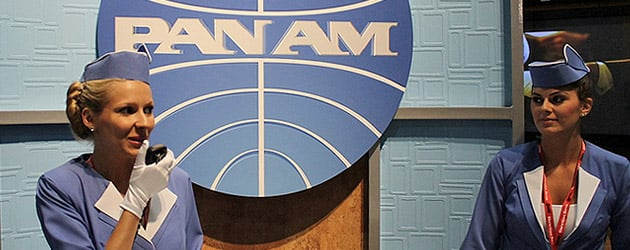 "Disney creates buzz for ABC show ""Pan Am"" with elaborate San Diego Comic-Con booth and swag bags"