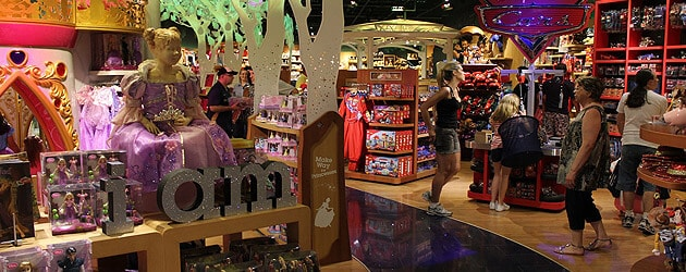 Disney Store announced for Mall at Millenia in Orlando, among 13 new and remodeled locations for 2012