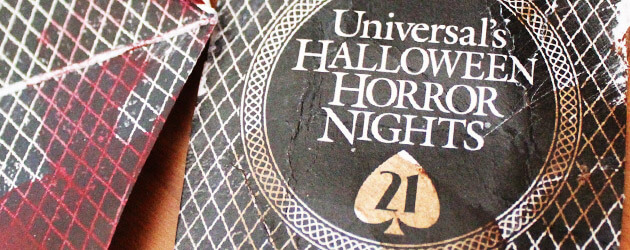 Luck is responsible for latest Halloween Horror Nights 2011 teaser card, along with all the Halloween scares to come