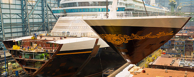 Construction Completed On Disney Fantasy Cruise Ship As
