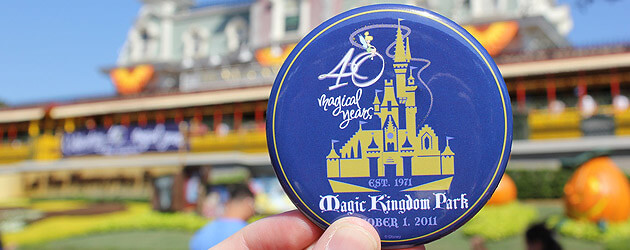 Walt Disney World celebrates 40th anniversary with characters and music at Magic Kingdom