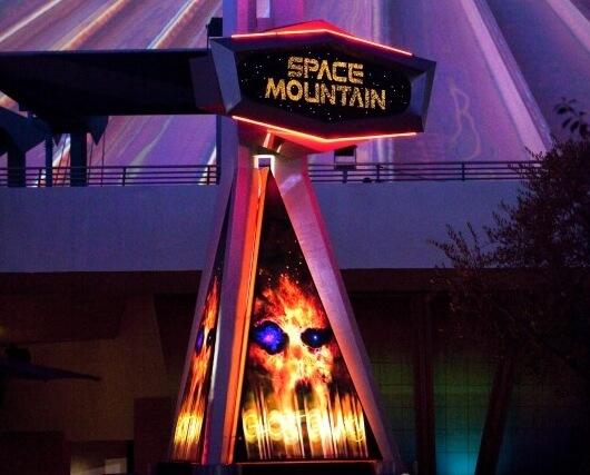 space mountain ghost galaxy disneyland - photo #27