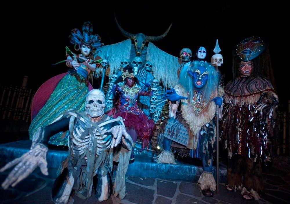 From Halloween to Alien Encounter: Disney theme parks vary