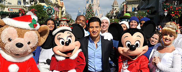 Bieber, Aguilera, Hudson and more celebs star in 2011 Disney Parks Christmas Day Parade TV special at Disney World, Disneyland