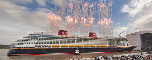 Disney Fantasy sailing for New York christening on March 1, a first for Disney Cruise Line