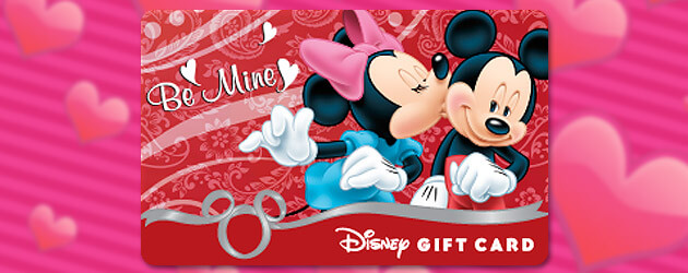 valentines day giveaway enter to win a 50 disney gift card courtesy of pixie vacations - Valentines Day Disney