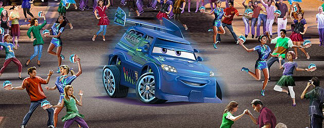 Disneyland reveals Cars Land street entertainment to include Red the Fire Truck and DJ dance party