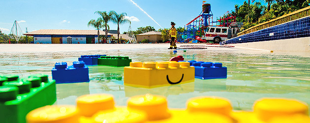 LEGOLAND Florida Water Park receives its most important element as construction continues toward grand opening