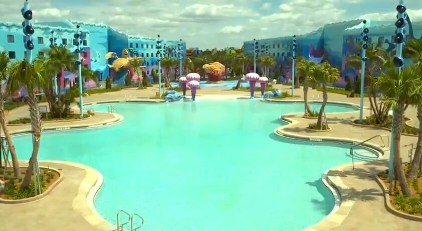 39 Finding Nemo 39 Pool At Disney 39 S Art Of Animation Resort To Feature Underwater Sound System