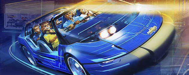 New Test Track concept art offers preview of Walt Disney World ride update as Chevrolet Design Center at Epcot