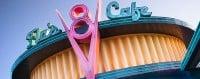 cars land flo's v8 cafe