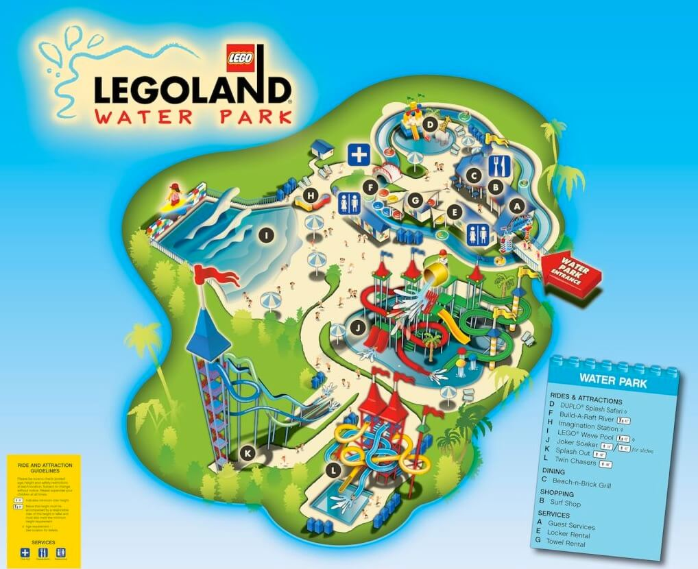 LEGOLAND Florida Water Park Makes Big Splash For Grand Opening - Florida map attractions