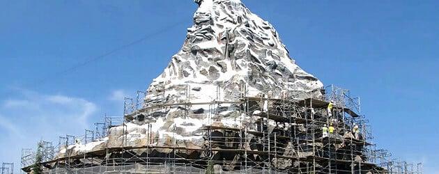 matterhorn at Disneyland