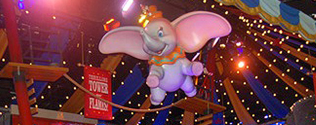 Preview: Inside the new Dumbo ride big top where Walt Disney World replaces long lines with pagers, interactive games