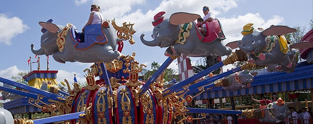 Double Dumbo debuts at the Magic Kingdom offering Walt Disney World guests twice the Flying Elephant fun