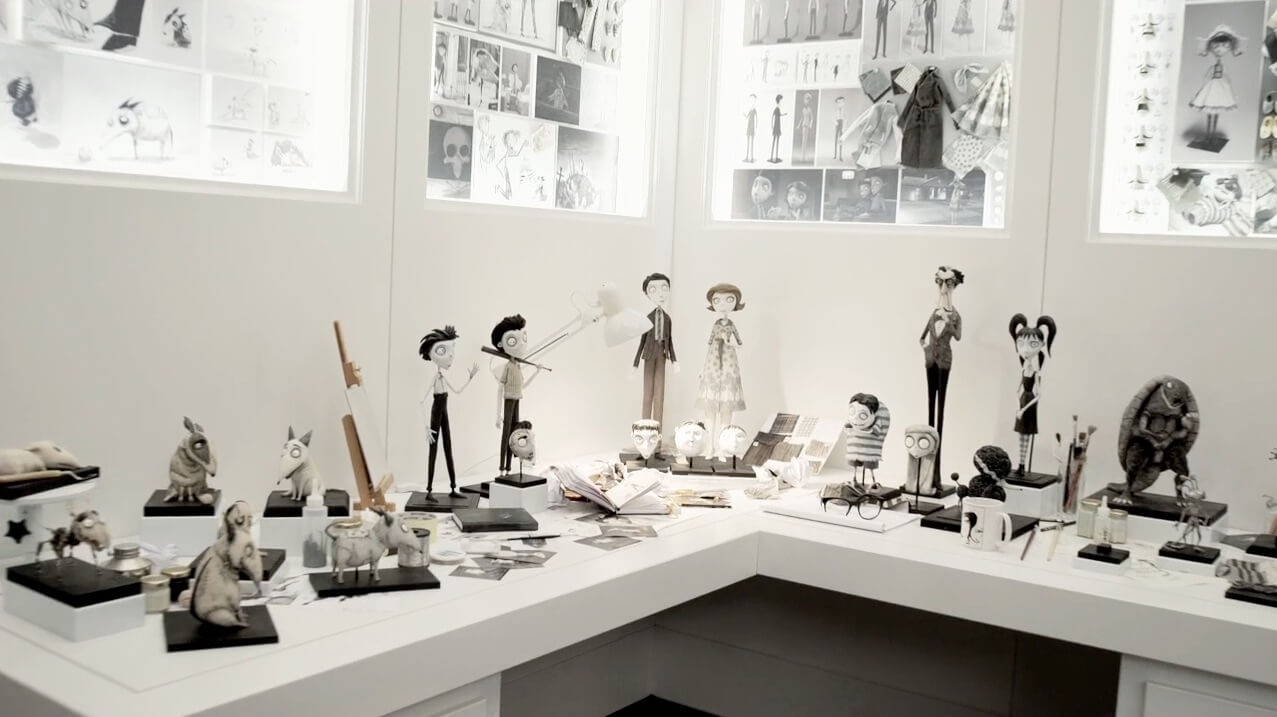 Frankenweenie Props Sets To Tour World In Art Exhibition With Stops At San Diego Comic Con Disneyland Inside The Magic