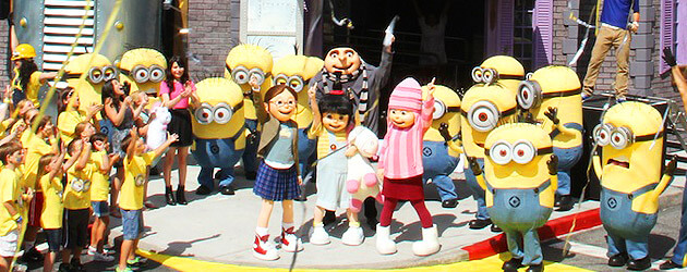 Despicable Me: Minion Mayhem grand opening celebrated at Universal Orlando with celebrity voices and many Minions