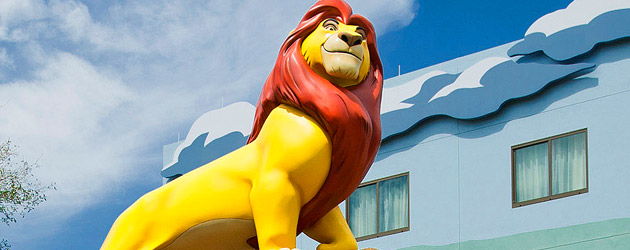Inside The Lion King wing and rooms of Disney's Art of Animation Resort, as Walt Disney World opens third hotel phase