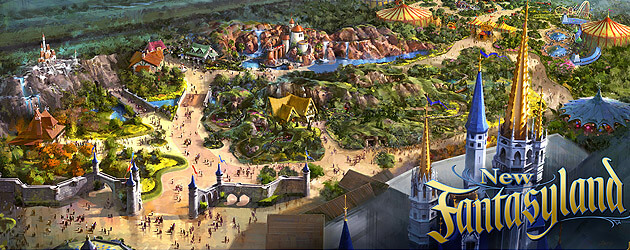 New Fantasyland opening date set for December 6, 2012 at Walt Disney World, previews to begin November 19